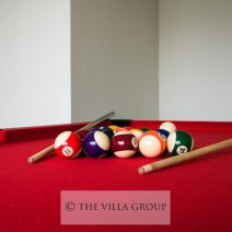 Pool table for your entertainment