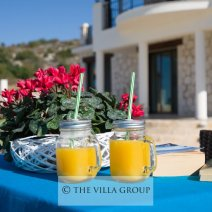 Enjoy breakfasts with fantastic views