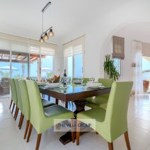 Spacious living, dining and kitchen areas