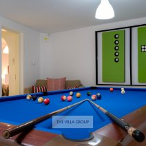 Hours of fun playing pool