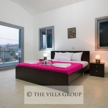 Spacious master double bedroom with private balcony