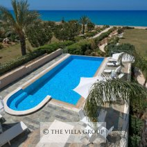 Amazing views over the swimming pool terrace and Mediterranean