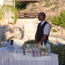 getting married in cyprus. luxury holiday wedding villa to rent in paphos. ideal venue for private luxury wedding ceremony and reception with privacy and amazing sea views.