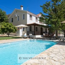 4 bedroom villa in the peaceful and tranquil village of Miliou