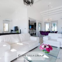 Luxury and elegantly furnished living areas