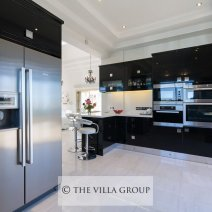 Luxury kitchen with Miele appliances