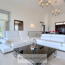 Elegantly furnished living area