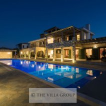 The villa boasts the largest swimming pool on the resort