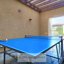 Table tennis for the more active guests