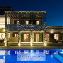 The villa is set in an exquisite location