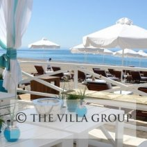The Zias Beach Club exclusive to residents of Aphrodite Hills Resort