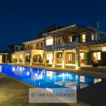 The villa is furnished to the highest standard