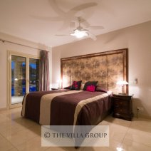 Tastefully furnished double bedroom