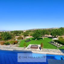 Beautiful gardens and large private swimming pool
