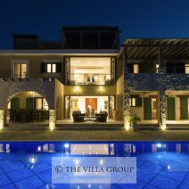 The villa is stylish and elegantly furnished throughout